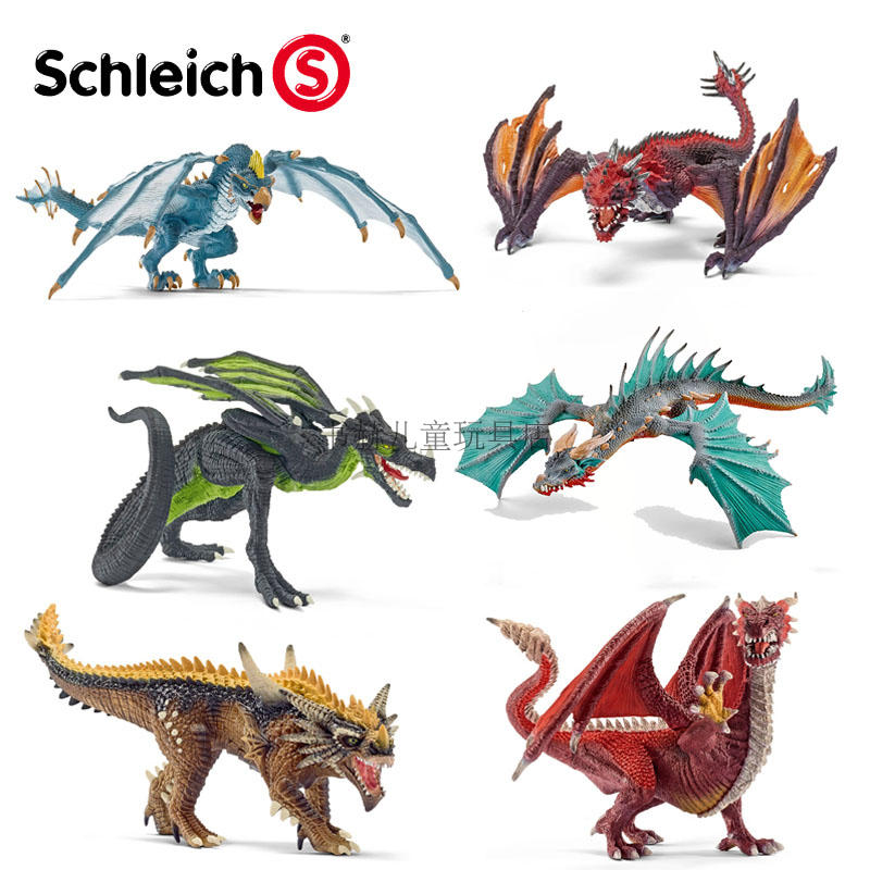 思乐Schleich侏罗纪魔幻恐龙骑士70508 70509 70510 70512