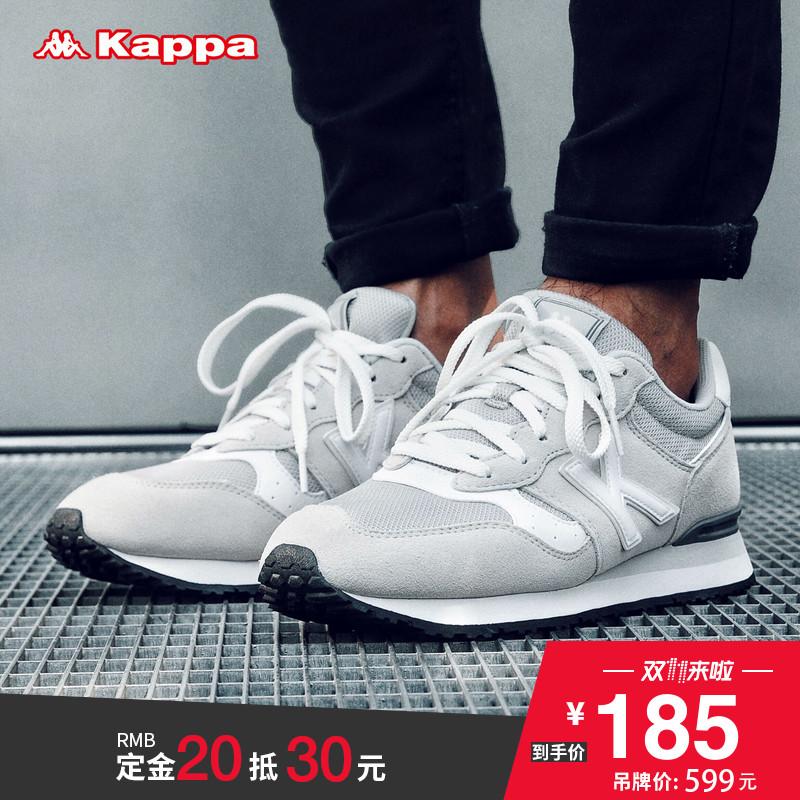 预Kappa卡帕情侣男女运动跑鞋 透气小白鞋 休闲运动鞋|K0655MM51D