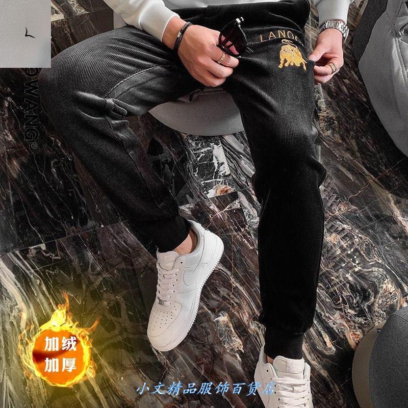 东通伊迦男装秋冬新款时尚百搭休闲裤