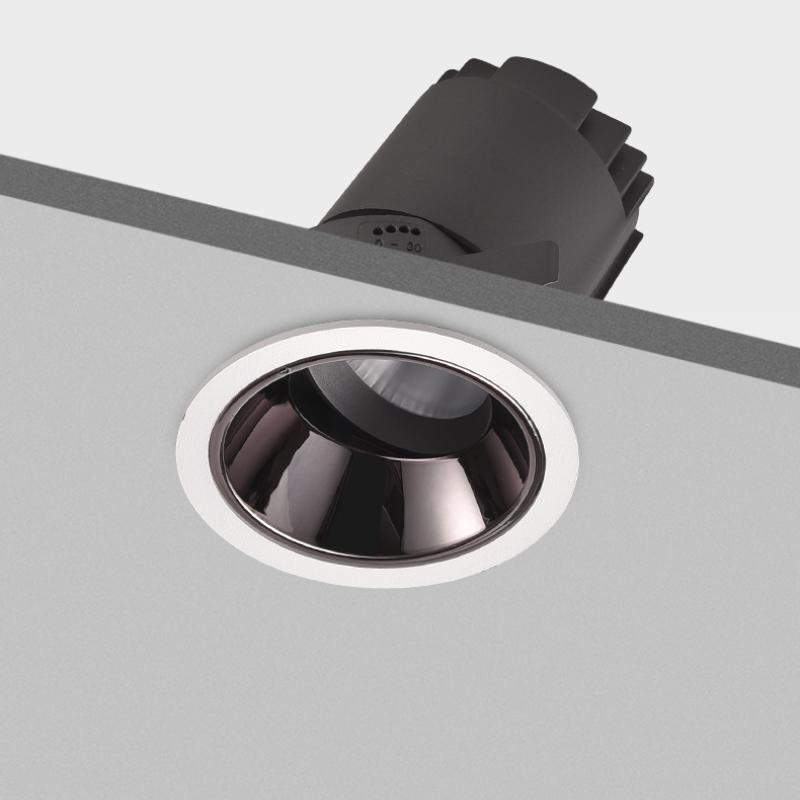 嵌入式射灯模块化可调角天花灯高显色深防眩光洗墙家用LED射灯