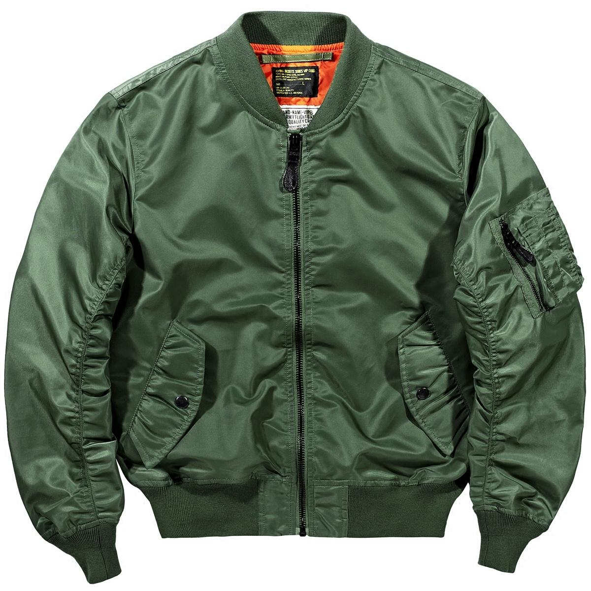 VIP春季新款空军ma1飞行员夹克男韩版棒球服大码男士军装外套潮牌