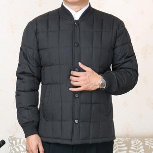 中老年人棉衣男内胆冬装外套加肥加大棉袄爷爷装60-70岁父亲棉服
