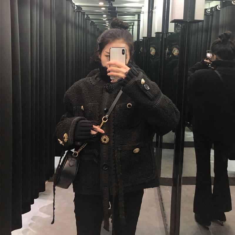 小香风外套设计感小众女宽松加厚气质很仙的高贵优雅必入的小外套