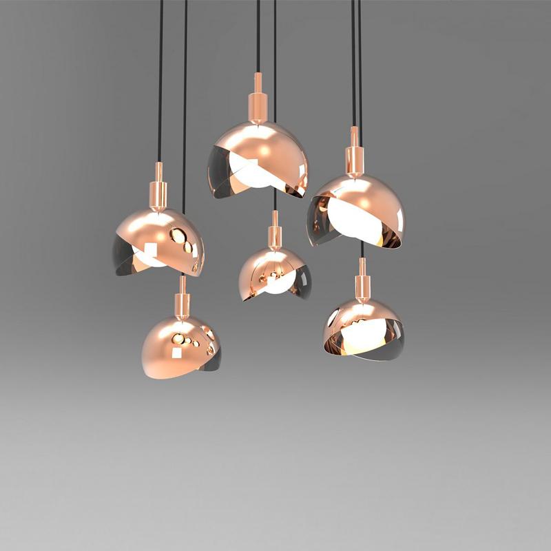 简约后现代个性创意单头吊灯北欧极简客厅卧室床头小吊灯餐厅灯具-百乐缘灯饰