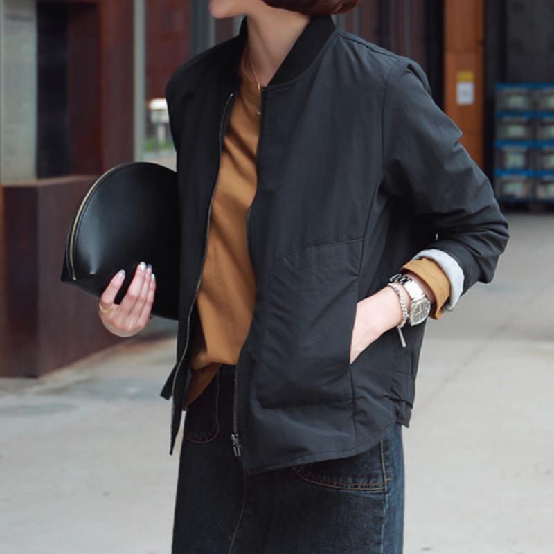 原形棒球服短款宽松外套女2019春秋新款韩版百搭运动休闲夹克上衣