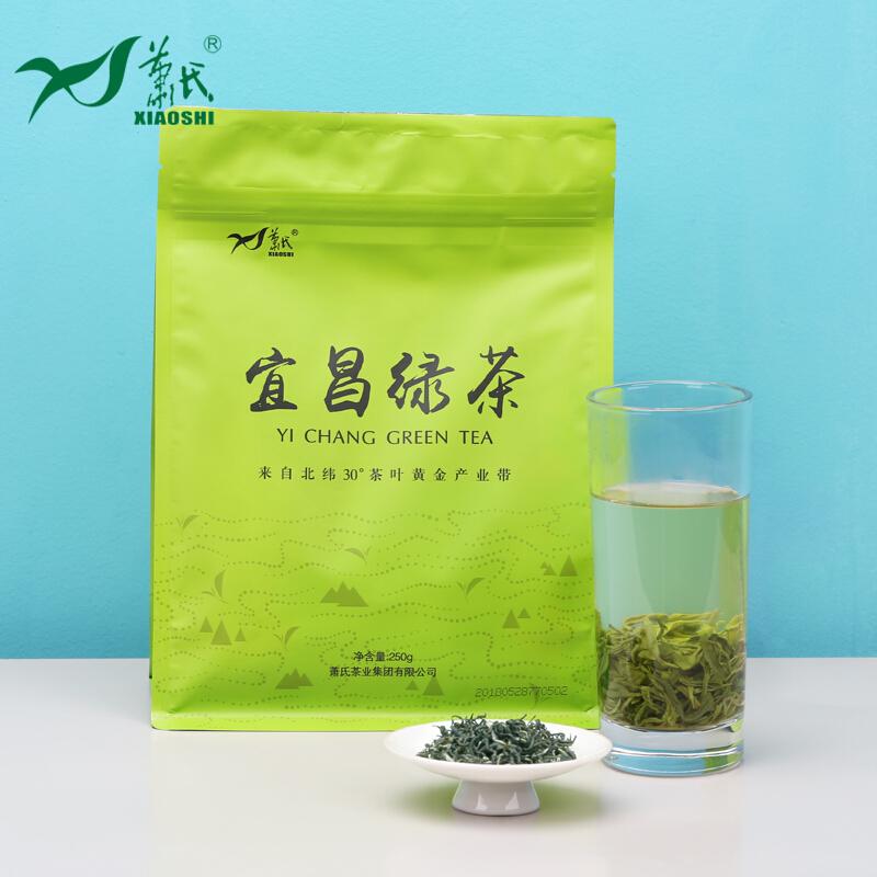 萧氏宜昌绿茶250g袋装湖北三峡特产茶叶绿茶半斤 2019新茶半斤装