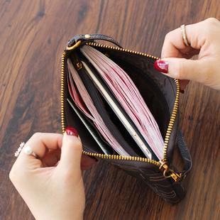 2020新款欧美大牌手拿包女士大容量手机包钱包长款钱包软皮手抓包图片