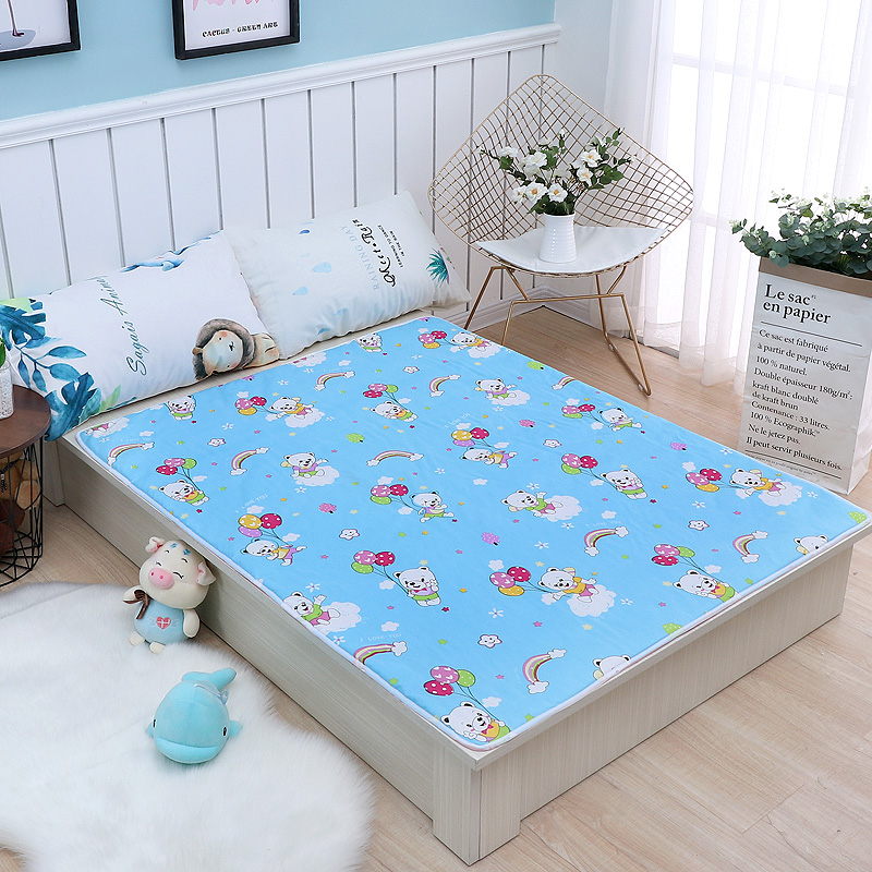 婴儿童隔尿垫防水透气可洗大号新生儿宝宝床布大号月经姨妈垫