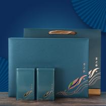 日照山东绿茶2021新茶高档礼盒装送礼茶叶崂山绿茶500克茶叶豆香