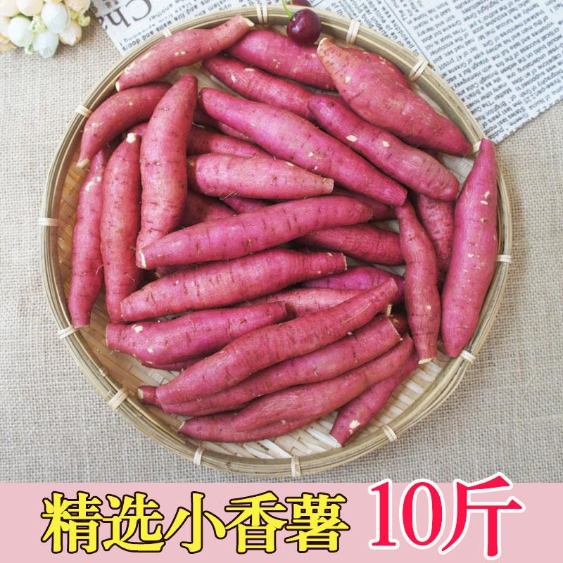 黄白心新鲜小红薯陕西秦薯农家烤蜜薯面甜番薯地瓜10斤板栗地瓜