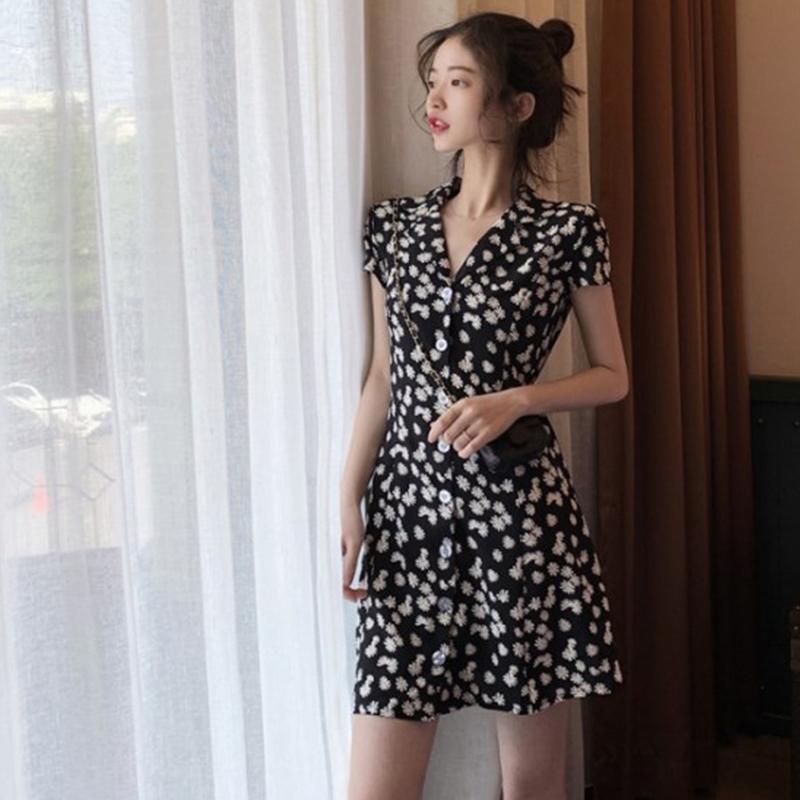 新款法式复古裙子仙女超仙森系