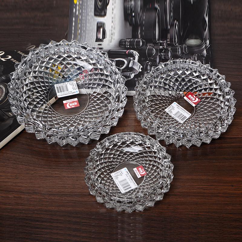 烟灰缸陶瓷创意个性时尚防风大号卧室客厅水晶玻璃烟灰缸欧式潮流