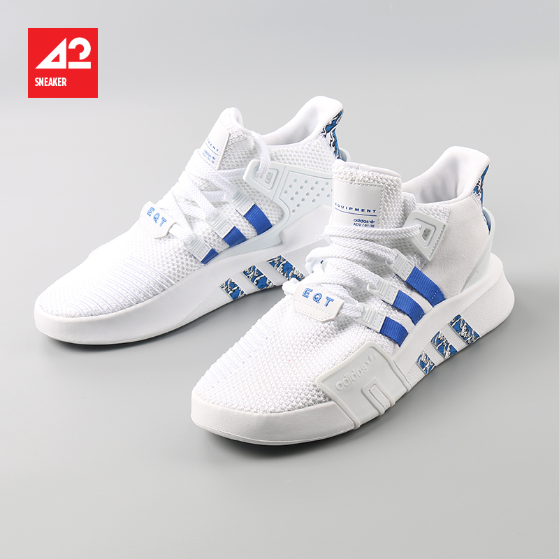 42运动家 Adidas EQT BASK ADV 潮流 透气编织跑鞋 EE5036 FU9400
