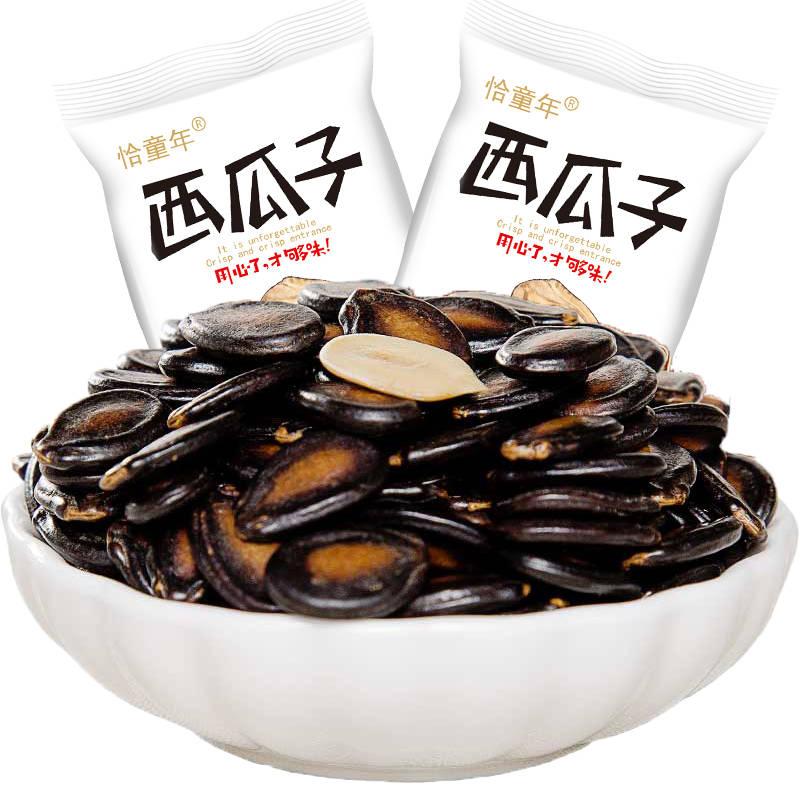 话梅味西瓜子独立小包装180g/1200g休闲坚果炒货特产零食瓜籽