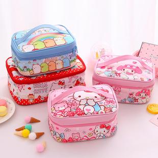 卡通可爱儿童学生保温饭盒袋铝箔加厚冷藏袋手提包带饭餐盒便当包图片