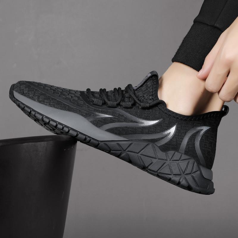点击查看商品:男鞋夏季透气轻便飞织运动鞋子男潮鞋韩版百搭板鞋时尚跑步休闲鞋