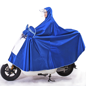 Raincoat electric car poncho battery car thickened motorcycle bike riding adult single male and female increase raincoat