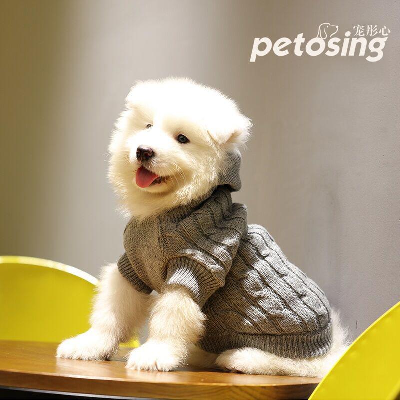 狗狗衣服秋冬装毛衣泰迪女比熊博美贵宾雪纳瑞猫咪小型犬小狗宠物图片