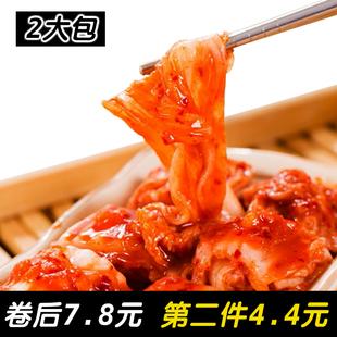 火然韩国泡菜 韩式腌制泡菜 朝鲜风味辣白菜 正宗下饭辣白菜 400g
