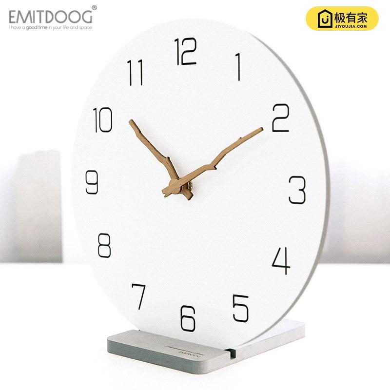 多一米欧式简约创意座钟时尚挂钟客厅卧室家用北欧现代时钟台钟