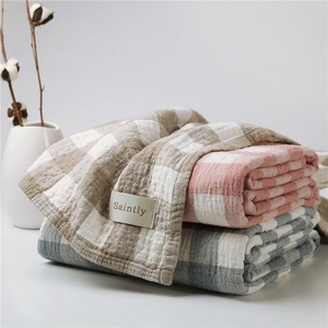 Japan imported towel quilt cotton single double gauze towel blanket blanket air conditioning blanket summer cool quilt sheets four seasons