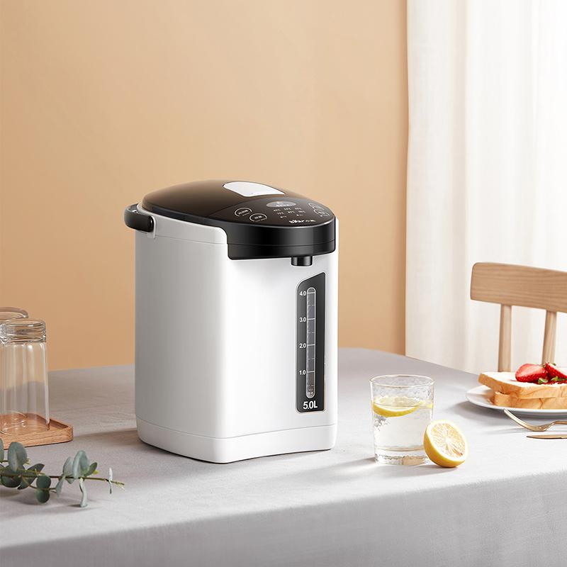小熊电热水瓶全自动保温一体烧水壶家用智能恒温电热水器大容量5L