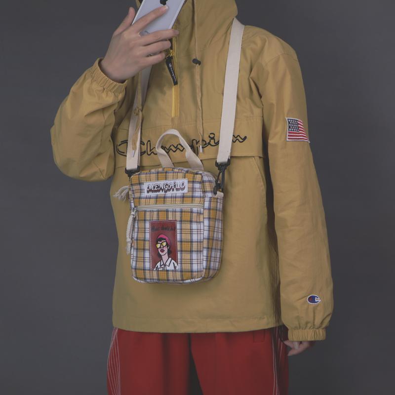女包手提新款2018韩版学生上新萌少女文艺单肩斜挎帆布可爱小包包