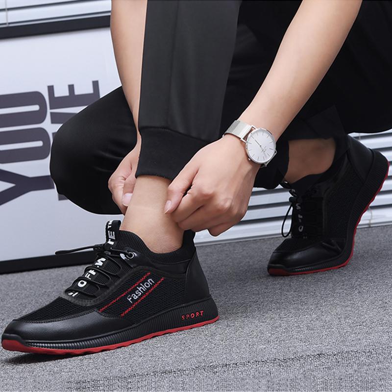 新款秋季飞织鞋网布透气运动潮鞋爆米花椰子鞋情侣网鞋休闲男鞋子