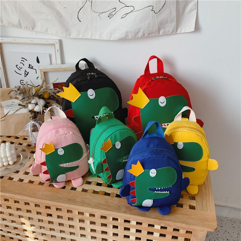 幼儿园书包新款恐龙儿童双肩包潮男童女孩宝宝1-3-5岁6防走失背包