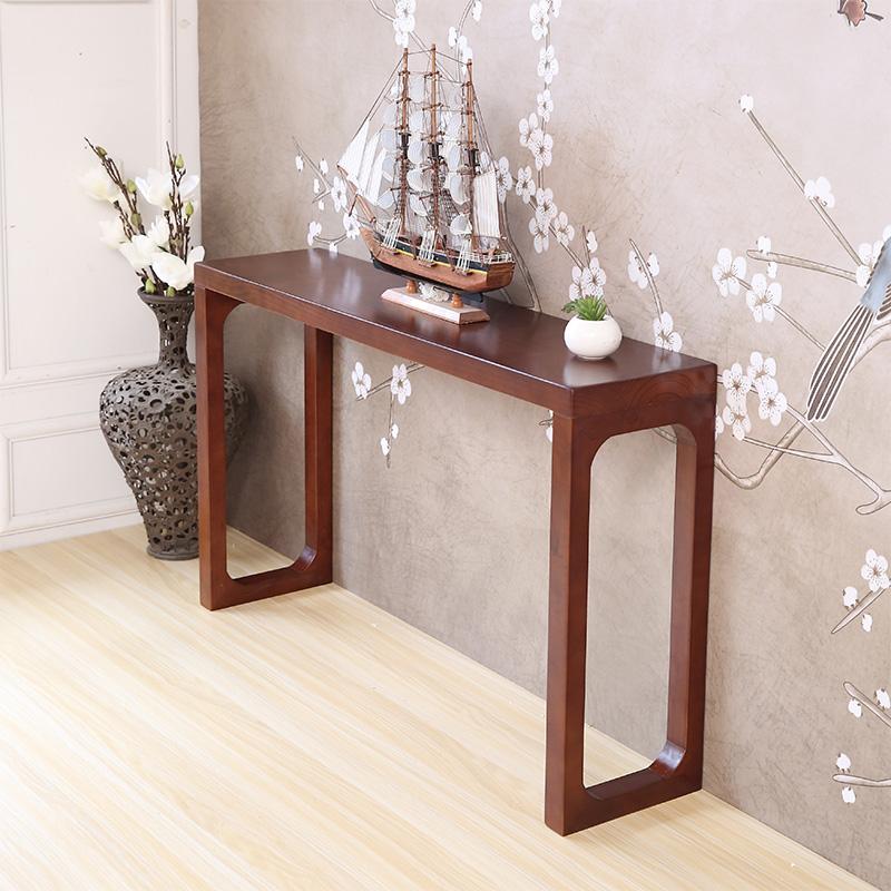 实木玄关桌玄关柜新中式条案案台条几供桌佛台家用神台简约现代