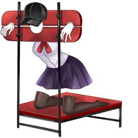 谜姬性爱枷锁夫妻调情调教束缚捆绑情趣枷锁大型椅子SM家具性具