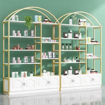 化妝品展示櫃美容院護膚理髮店產品展櫃擺台架子展示架母嬰店貨架