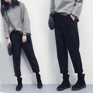 阔腿裤女秋冬2018新款裤子