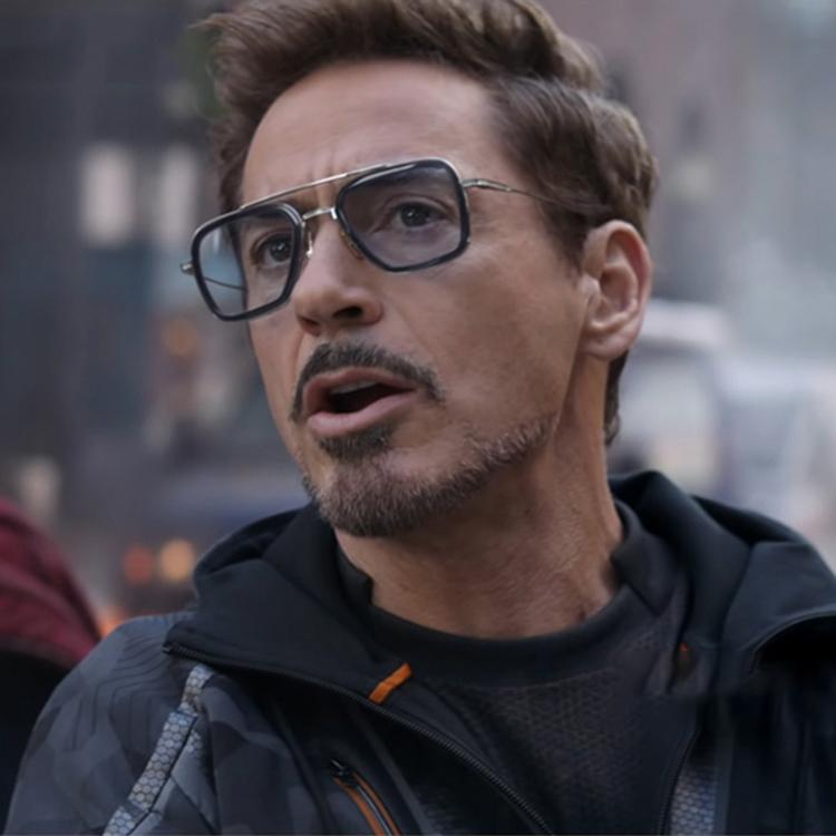 复仇者联盟钢铁侠太阳镜开车驾驶同款眼镜五边形墨镜近视太阳镜潮
