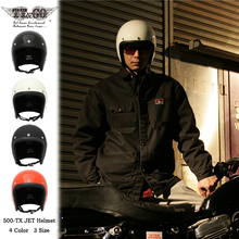 日款TTCO复古摩托车头盔d010车电动ld四季(小)盔体大码半盔