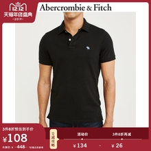 Abercrombie & Fitch men's trend logo elastic Short Sleeve Polo 106596-1 AF