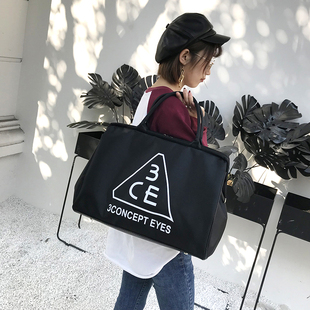 韩版手提 女行李包大容量短途旅