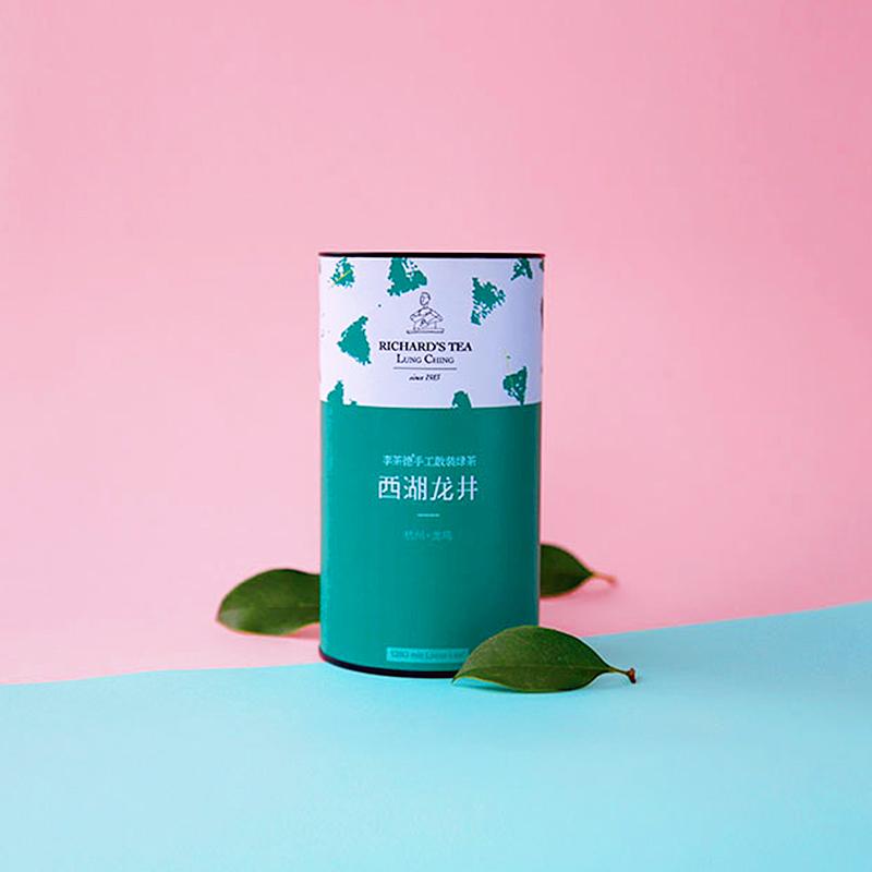 李茶德 杭州西湖龙井 2017雨前茶大号单罐装125克  特级绿茶叶