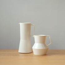 MUMO木墨 亚白分享壶 系列德化瓷家用日式简约手冲咖啡壶创意水壶