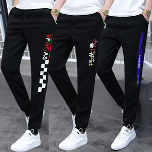 13 plus velvet casual long pants male 12 teen boy sports pants 15 years old junior high school high school student big child winter clothes