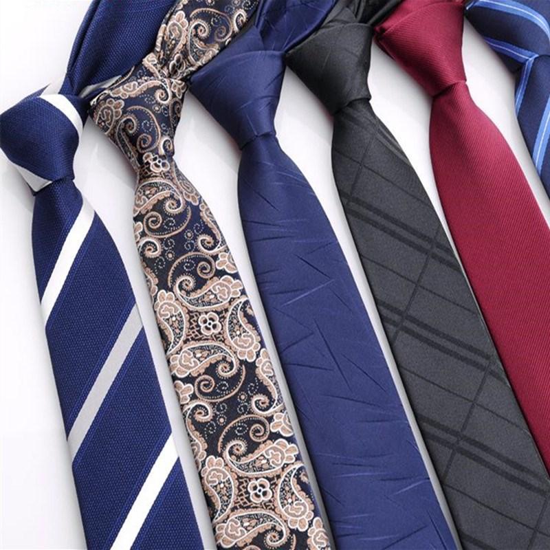 纯黑色细斜纹韩版窄领带男士职业正装商务休闲5CM 6CM 8CM 手打款