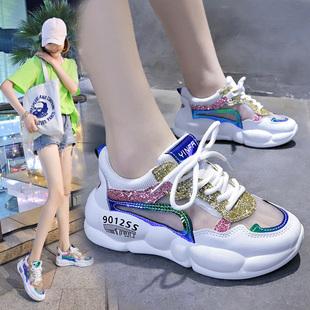 跑步鞋女鞋透气夏季 女运动鞋网