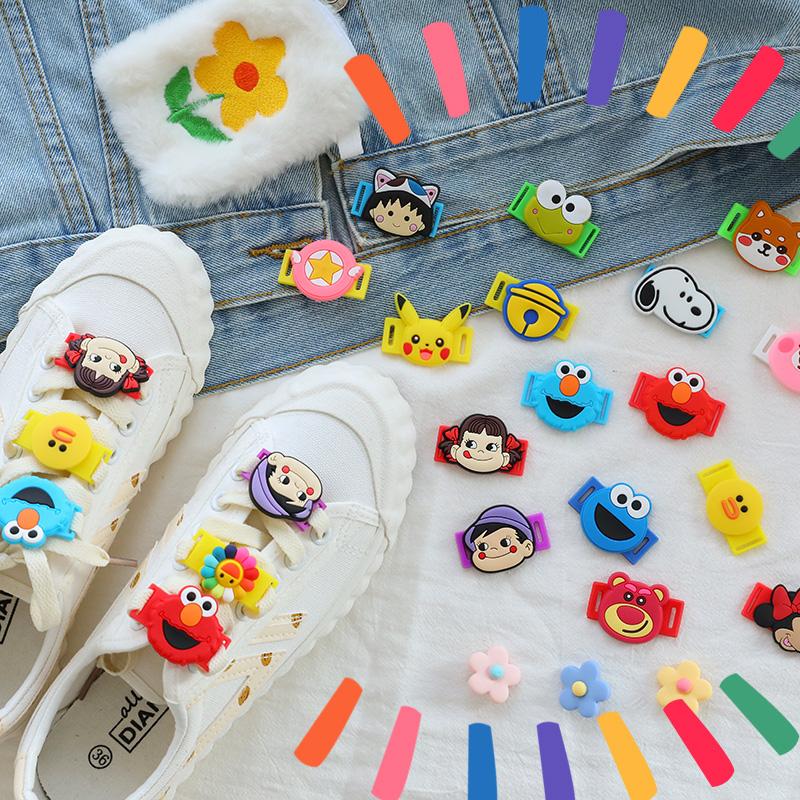 可爱卡通动漫装饰鞋扣日系少女帆布鞋带扣子学生潮流创意鞋子配件