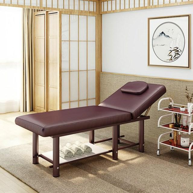 多功能可升降折叠按摩床理疗推拿床美容纹身床加宽家用美体理疗床