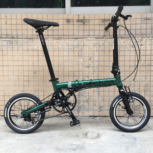 Popular 16-inch folding bicycle 1402 single-speed external three-speed integrated vehicle 412 modified speed-change driving artifact