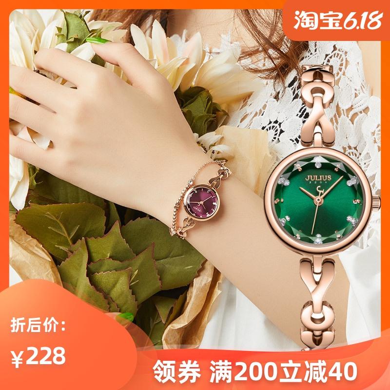 女友生日礼物手链手表防水小表盘石英机芯时尚百搭森系精致小女表
