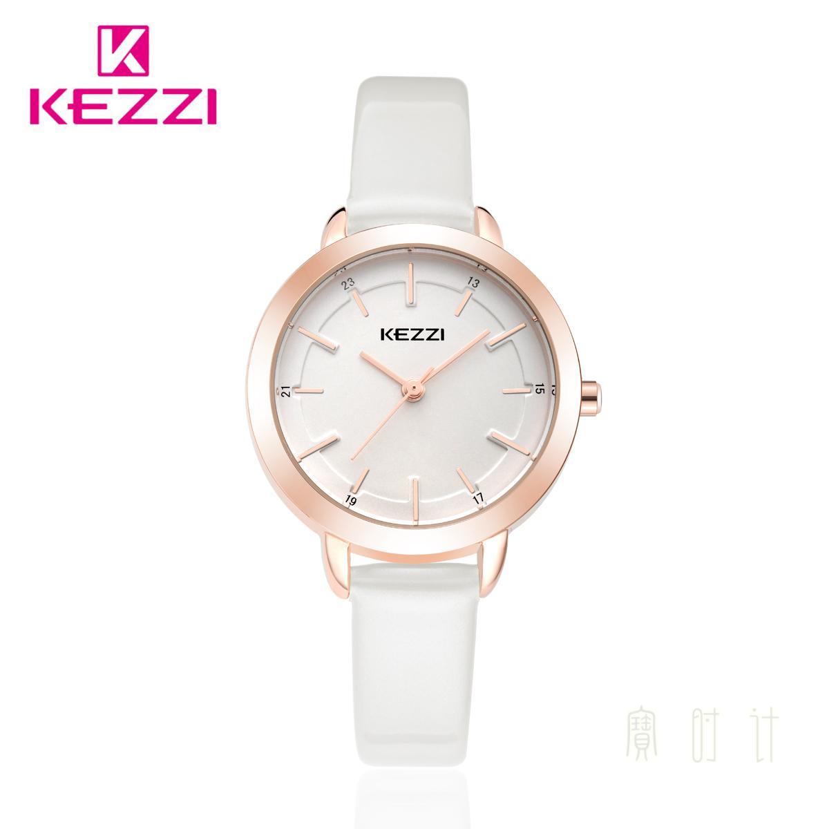 珂紫KEZZI正品牌子 韩国版潮流行时装防水石英简约休闲气质女手表