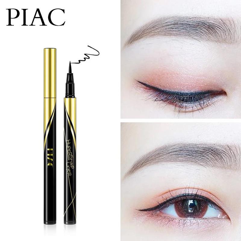 新品PIAC抖音眼线笔极细小金笔防水易画速干防水防汗内眼线不晕染