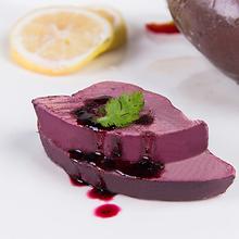 法式蓝莓鹅肝即食切片法国A级进口辅fr14宝宝整ed肝蓝莓酱