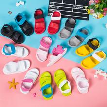 儿童凉鞋女童防滑软底宝宝fc9水沙滩鞋dm塑料凉拖鞋婴幼(小)童